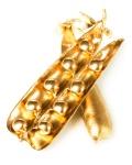 Gold pea pod